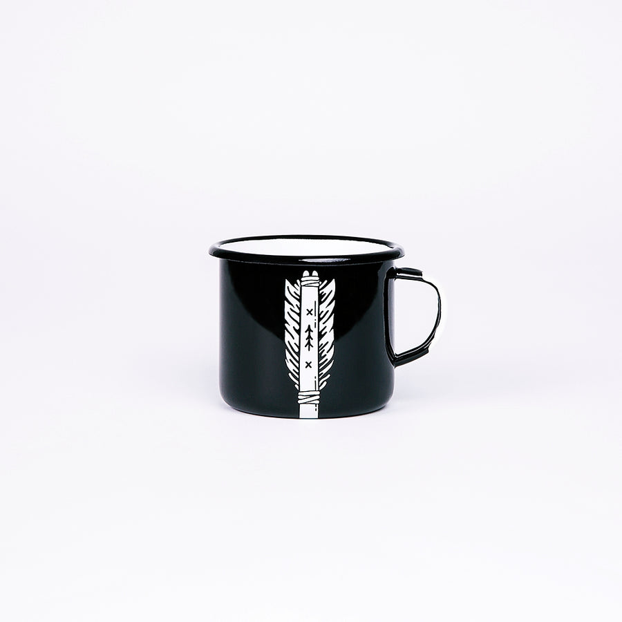 Enamel Mug | Arrow
