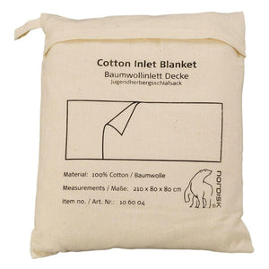 Cotton liner, blanket