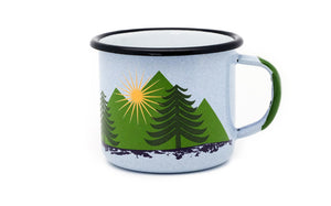 Deer Enamel Mug | Forest