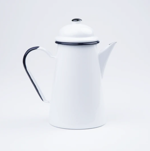 Enamel Coffee Pot | Plain