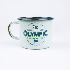 Olympic Enamel Coffee Mug | U.S. National Parks