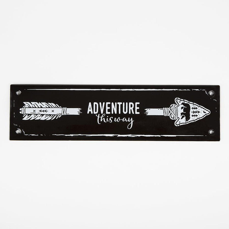 ENAMEL SIGN | ARROW Vintage Climbing