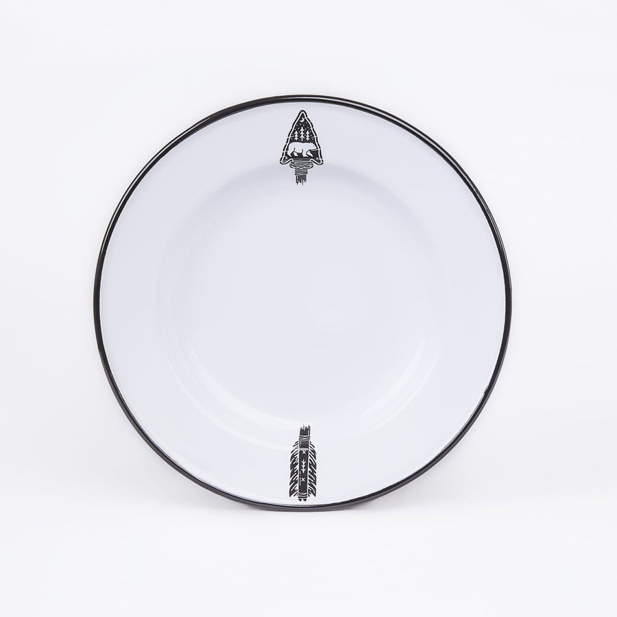 Enamel Plate | Arrow