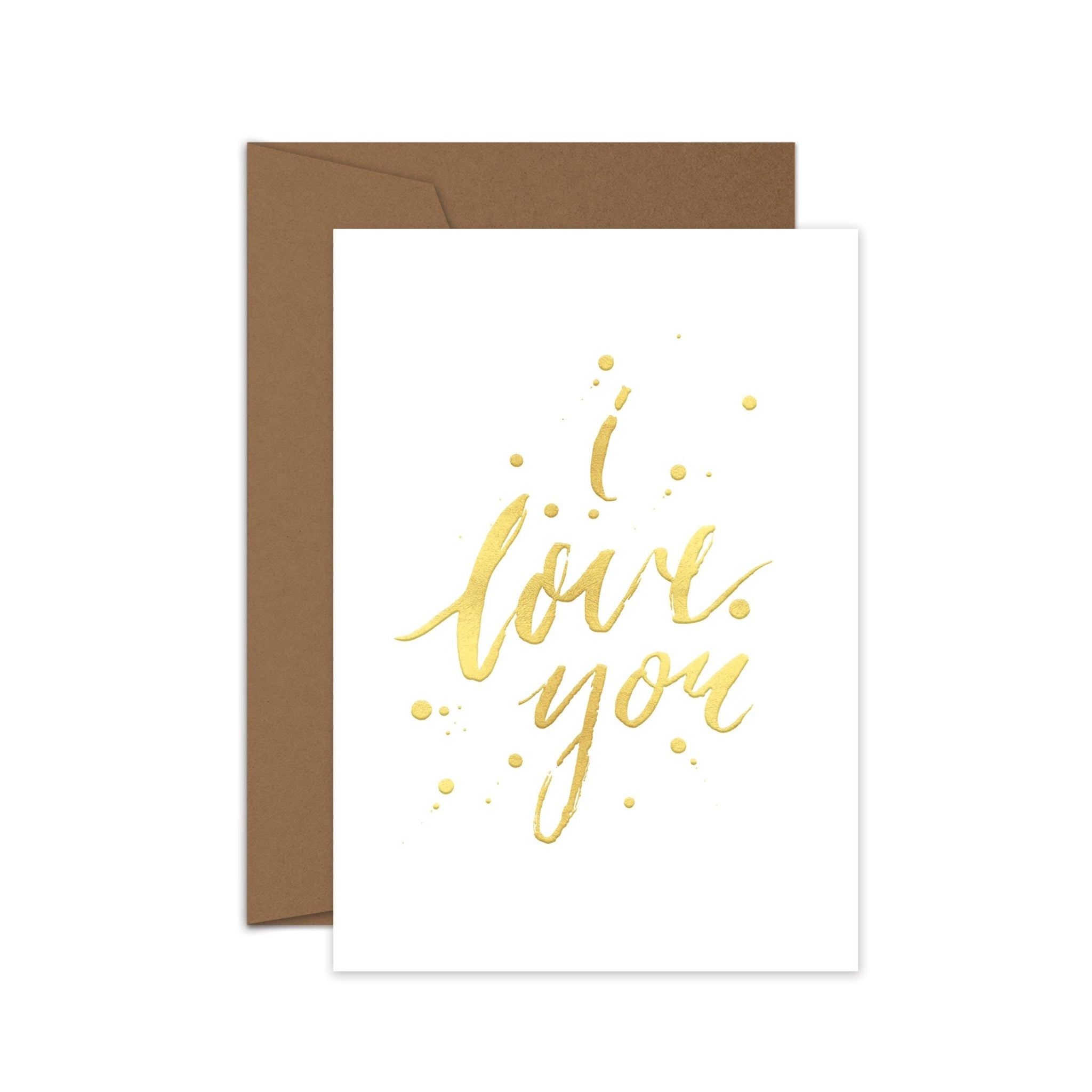 I love you - Card