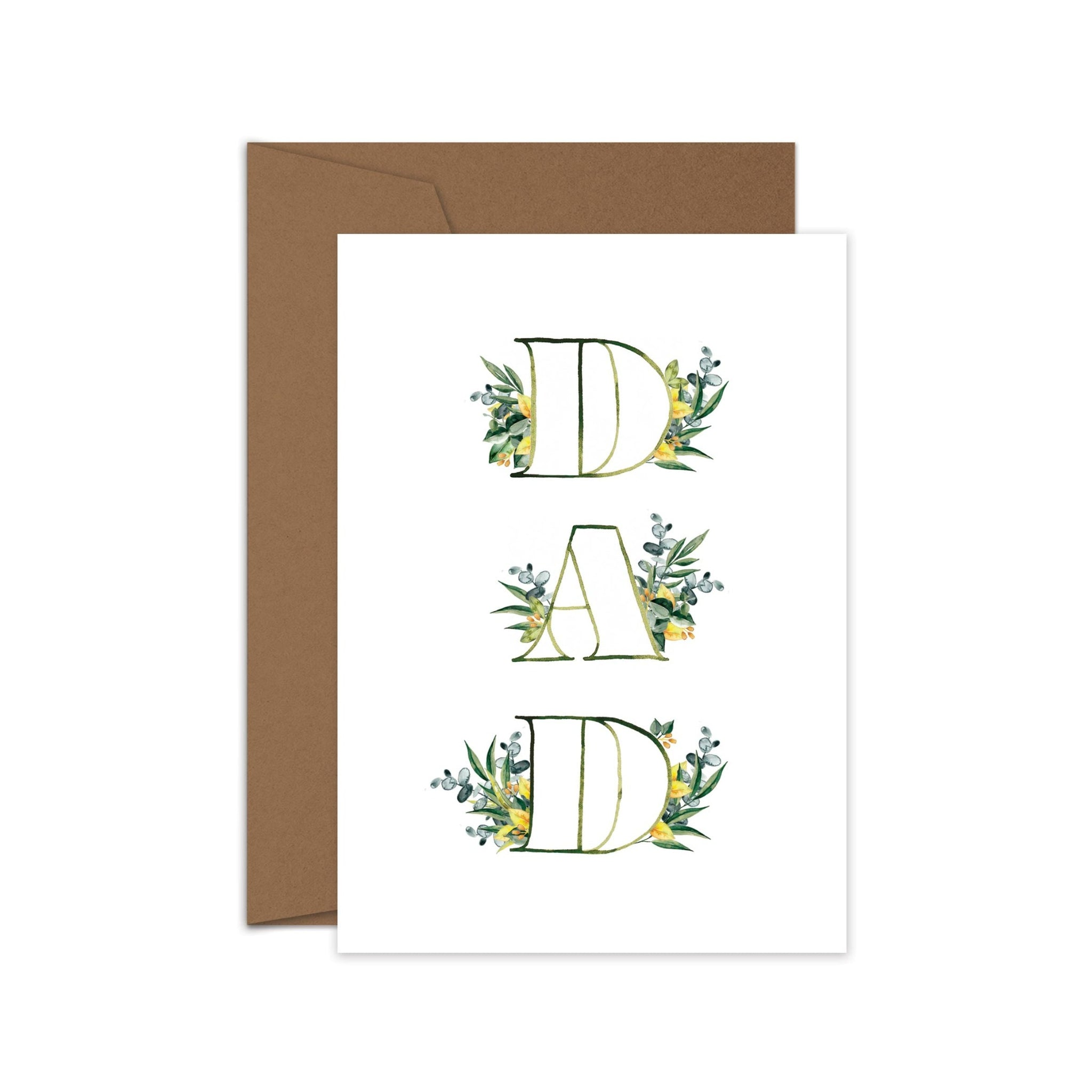 Leaf Dad - Father's Day card