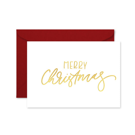Merry Christmas - Card