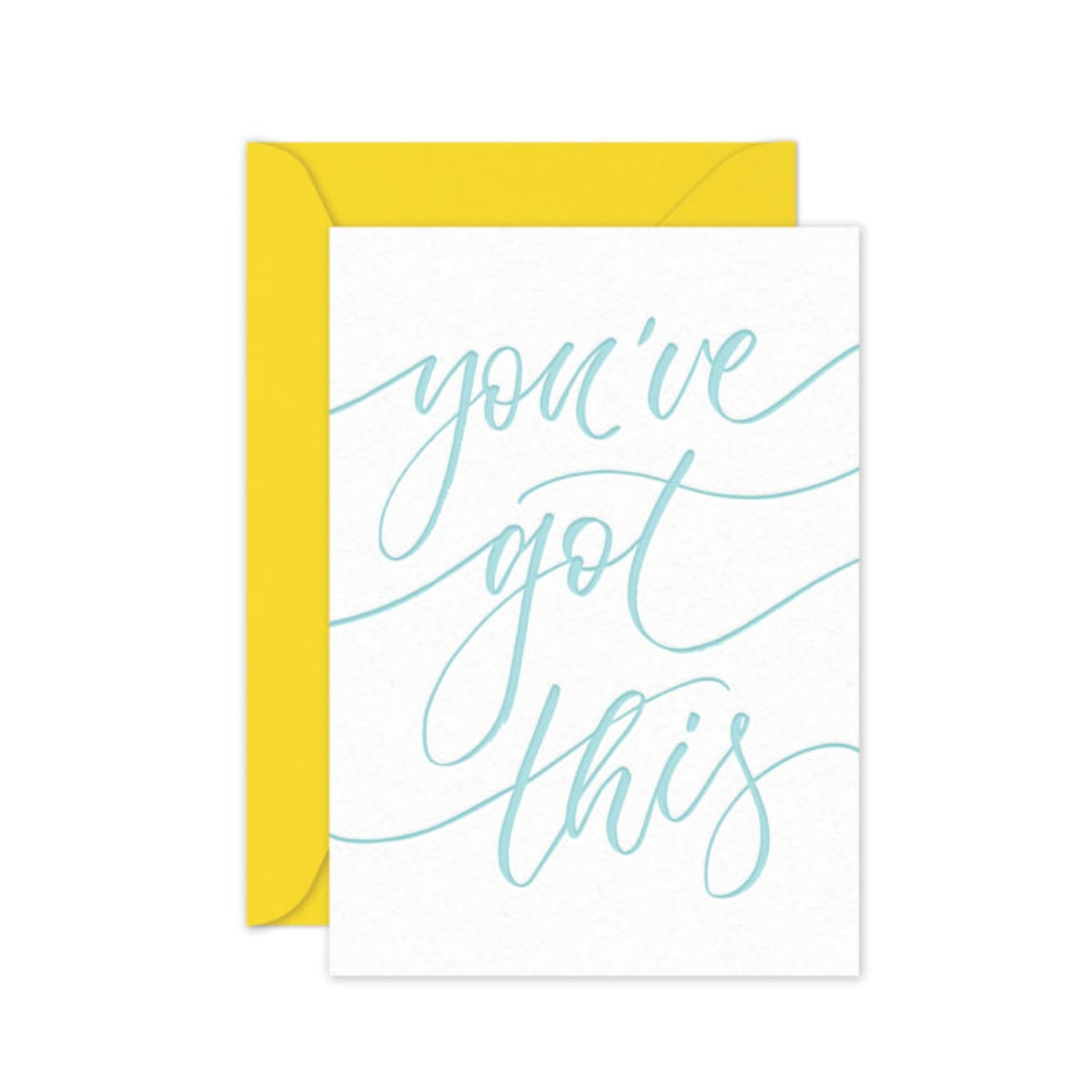 You've Got This - Card
