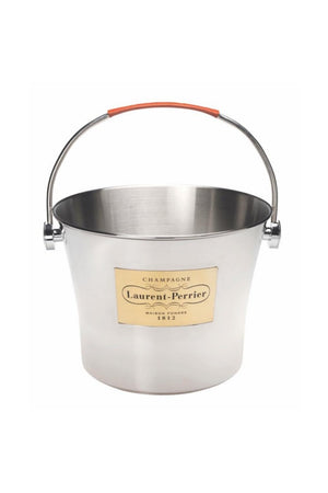 Laurent Perrier Stainless Steel Large Champagne Bucket