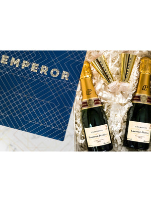 Mini Champagne Bottle Gift Hamper