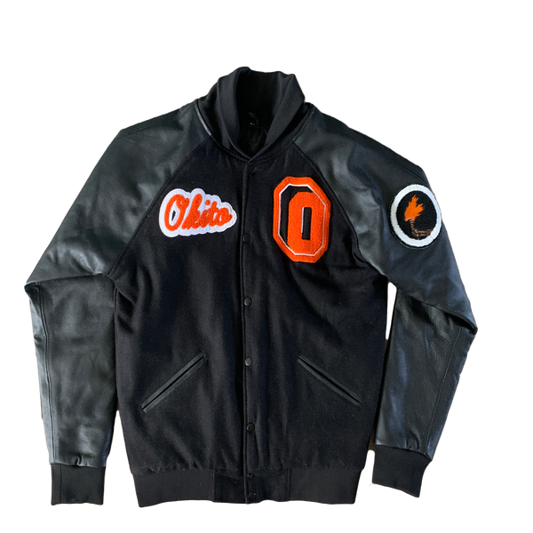 """Okapi"" Letterman Jacket"
