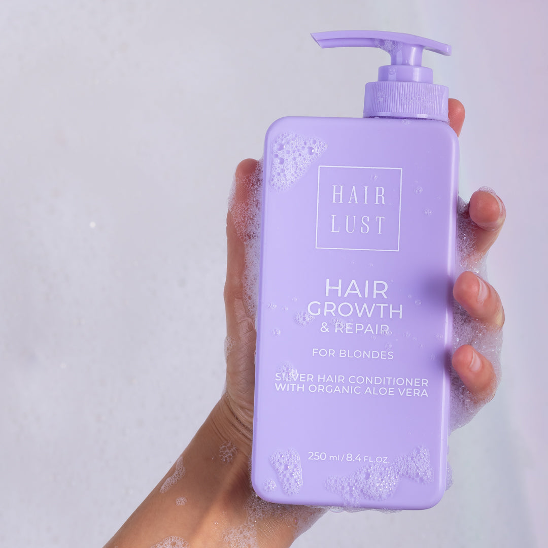 hairlust conditioner for blondes