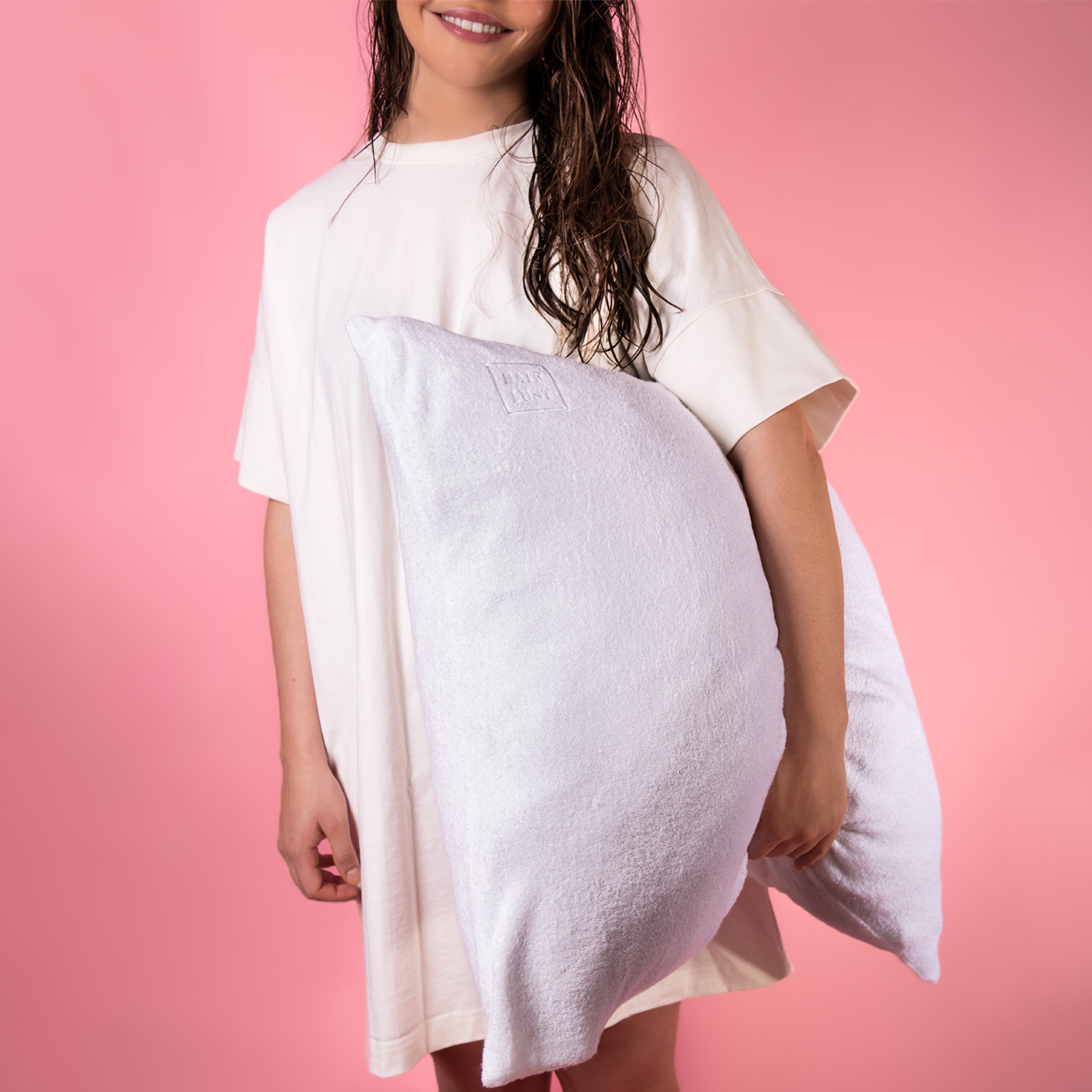 HairLust Bamboo Towel Pillowcase