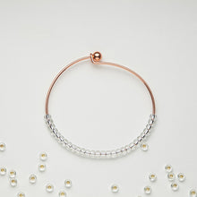rose gold bracelets to help keep motivated as you lose weight clear beads