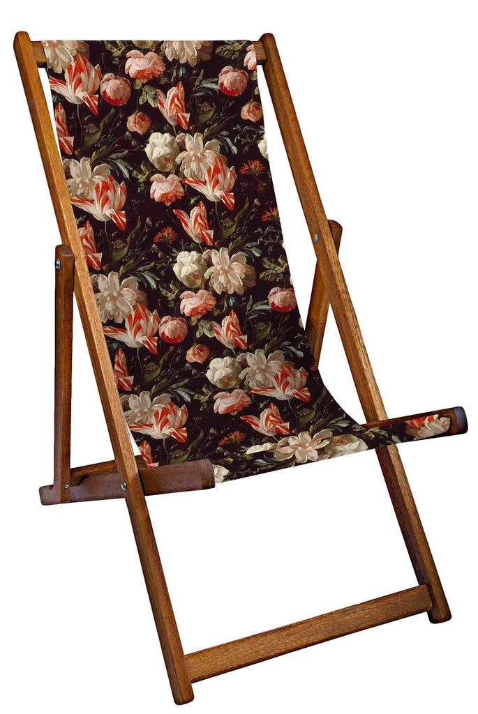 Ashmolean Antique Rose Garden Deckchair