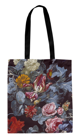 Ashmolean - Tumbling Rose Tote Bag