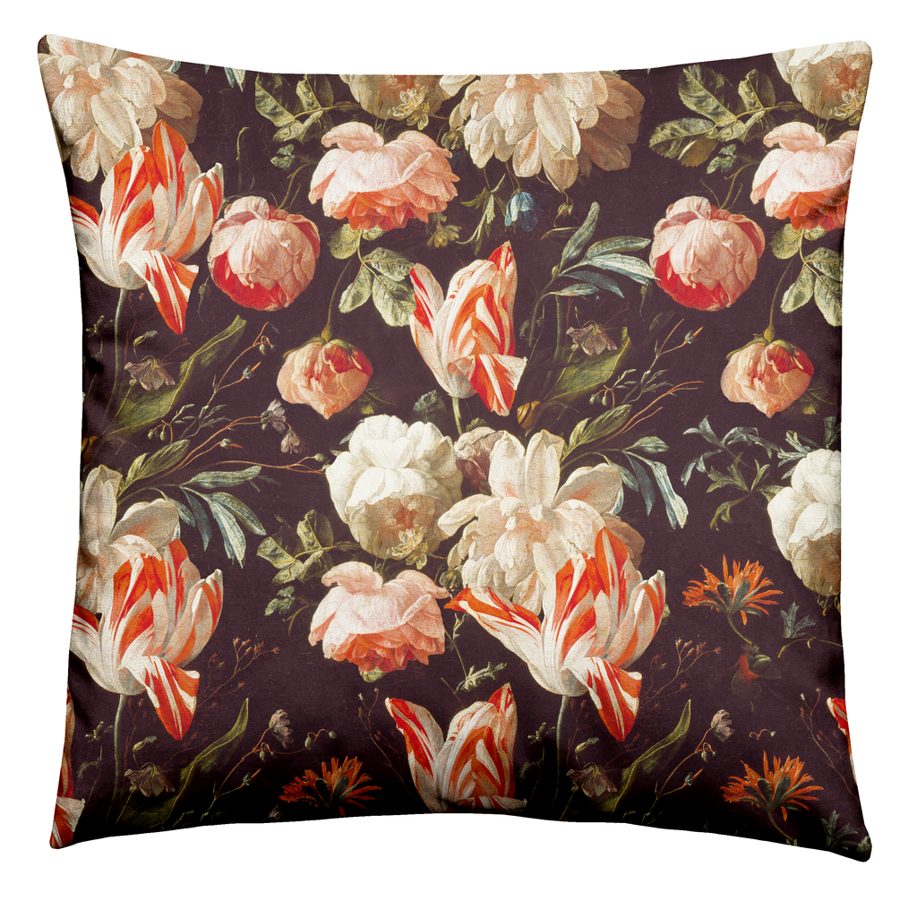 Ashmolean - Antique Rose Cushion