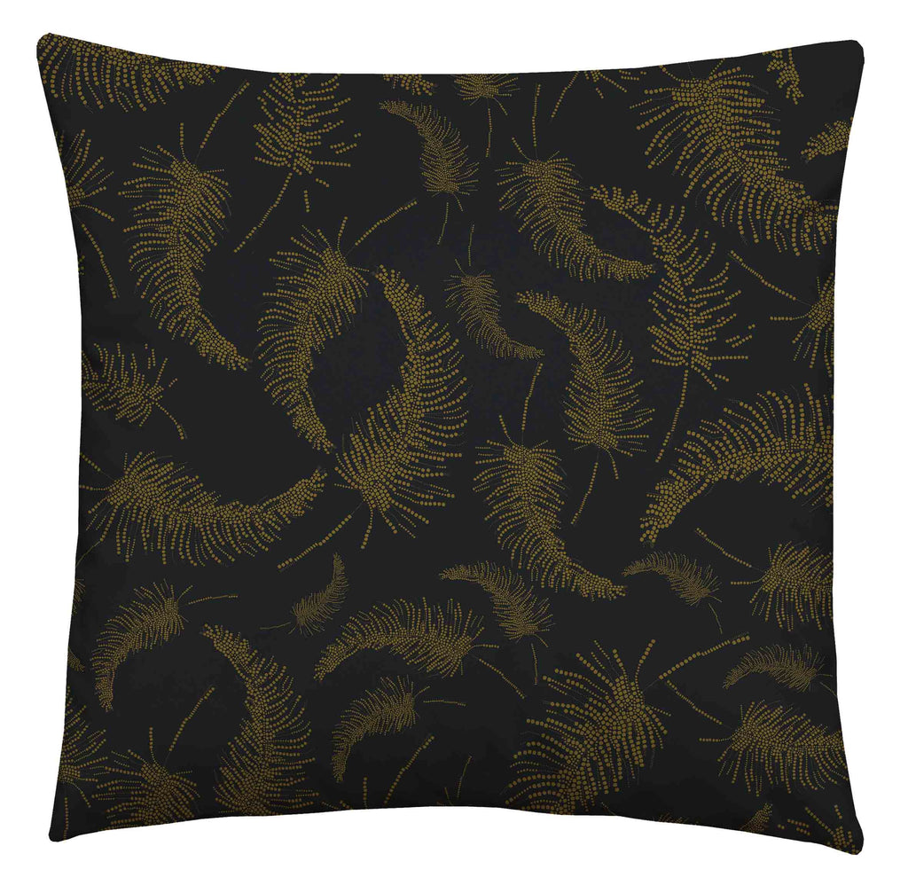 Palm Feather Jungle Square Cushion