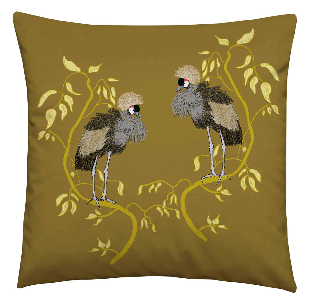 Japanese Cranes Zest Cushion