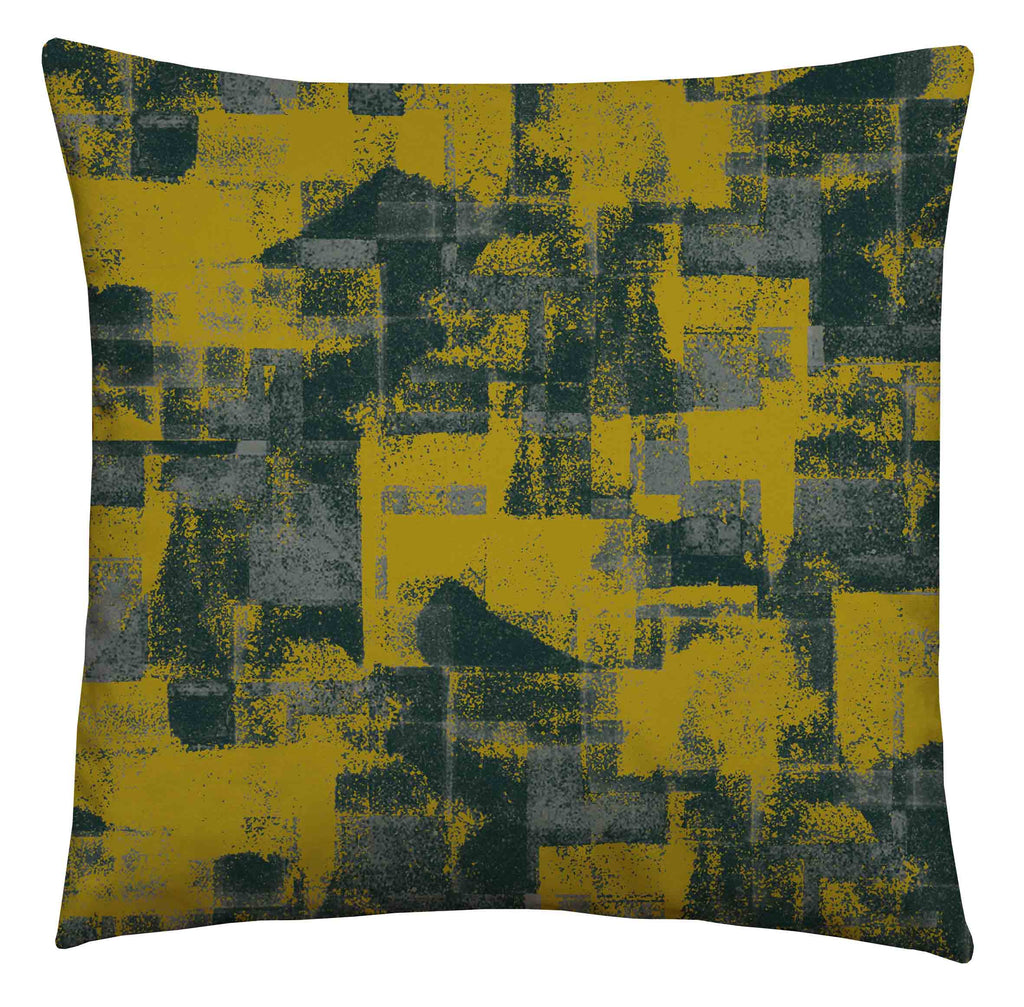 Patches Zest Square Cushion