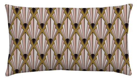 Deco Fan Boudoir Scatter Cushion
