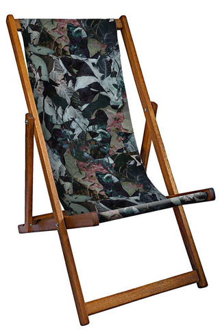Flower And Leaves Deckchair