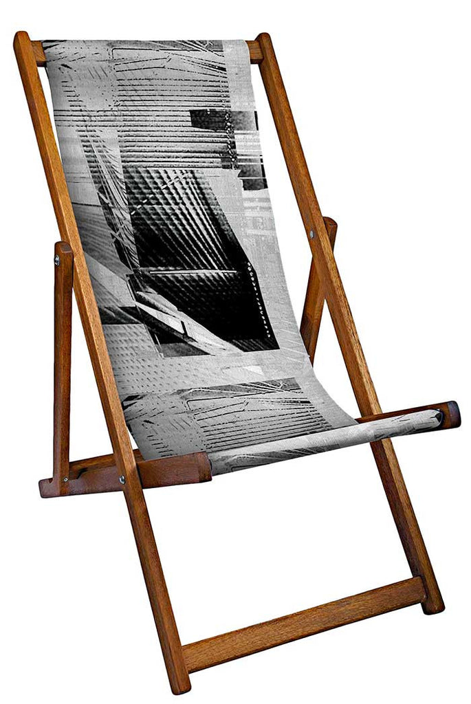 Linear Shadows Deckchair