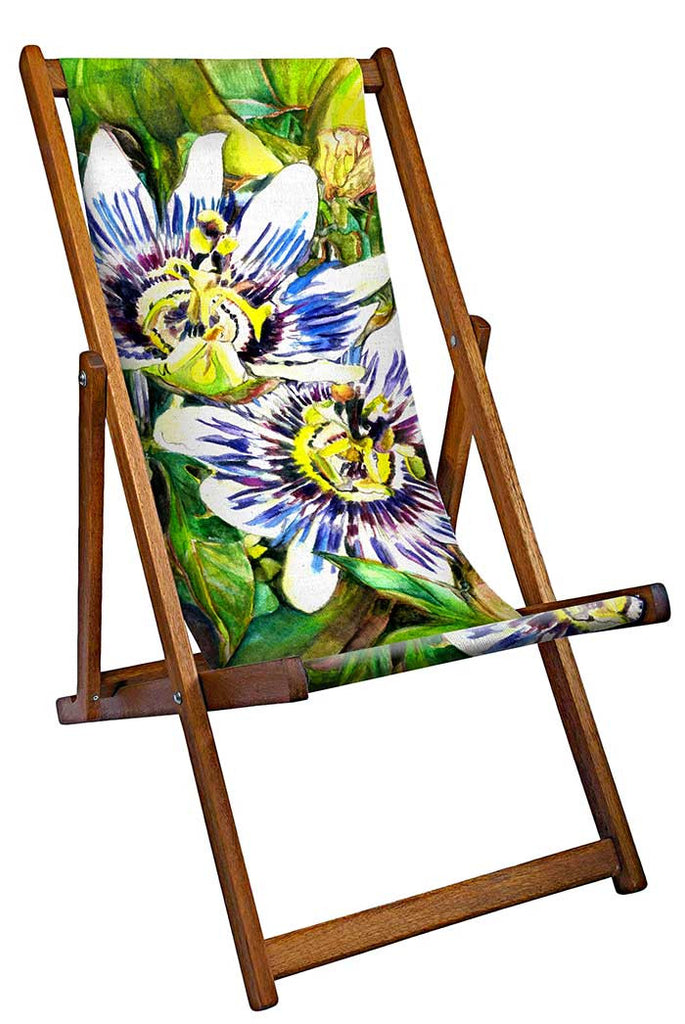 Tropical Flowers Deckchair