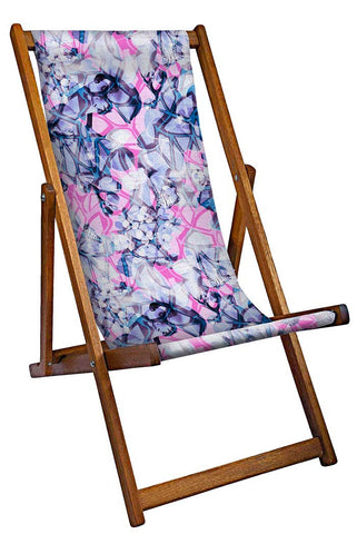Stylised Flowers Deckchair
