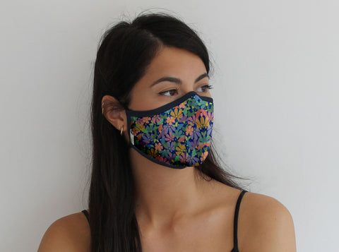 Flower Field Pro Mask - Medium