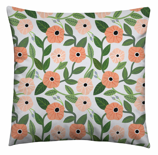 Floral Wall Cushion