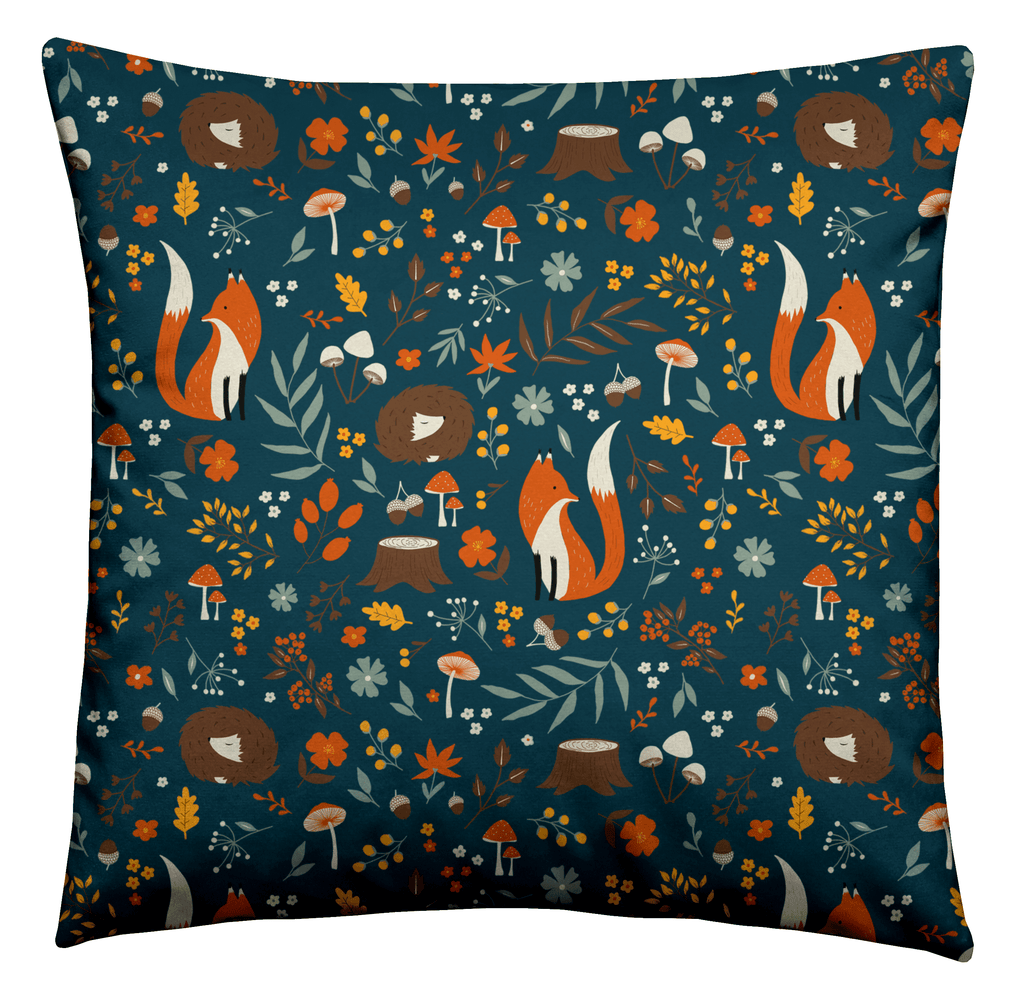 Forest Fox Cushion