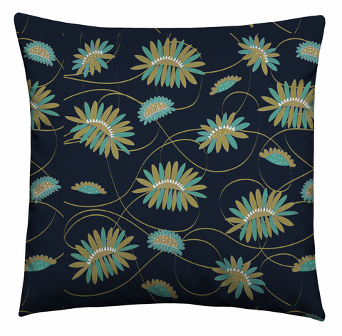 Graphic Garden Cushion