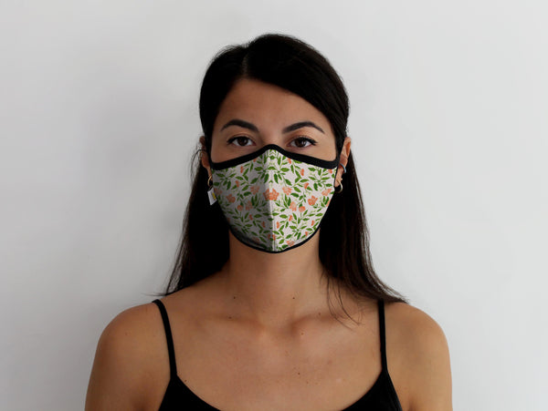 Floral Vine Pro Mask - Medium