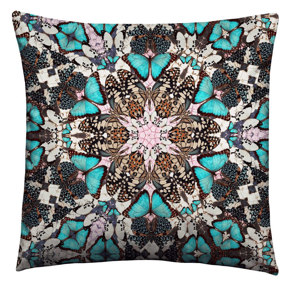 Kaleidoscope Butterflies Cushion