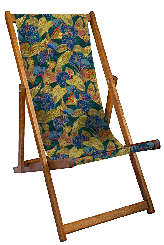 Colourful Leaves Deckchair