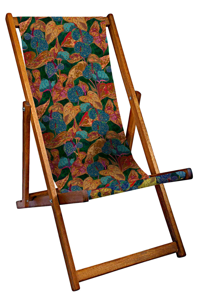 Autumn Leaves Deckchair
