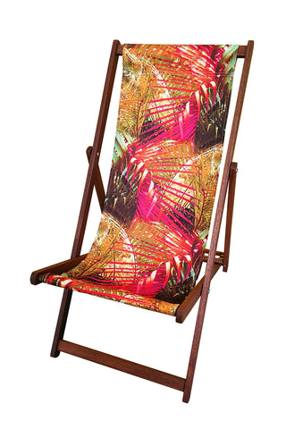 Palm Deckchair Samantha Warren