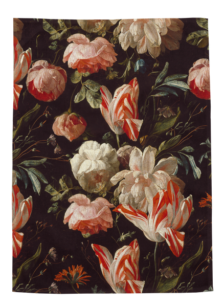 Ashmolean - Antique Rose Teatowel