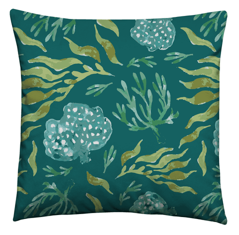 Sea Foliage Cushion