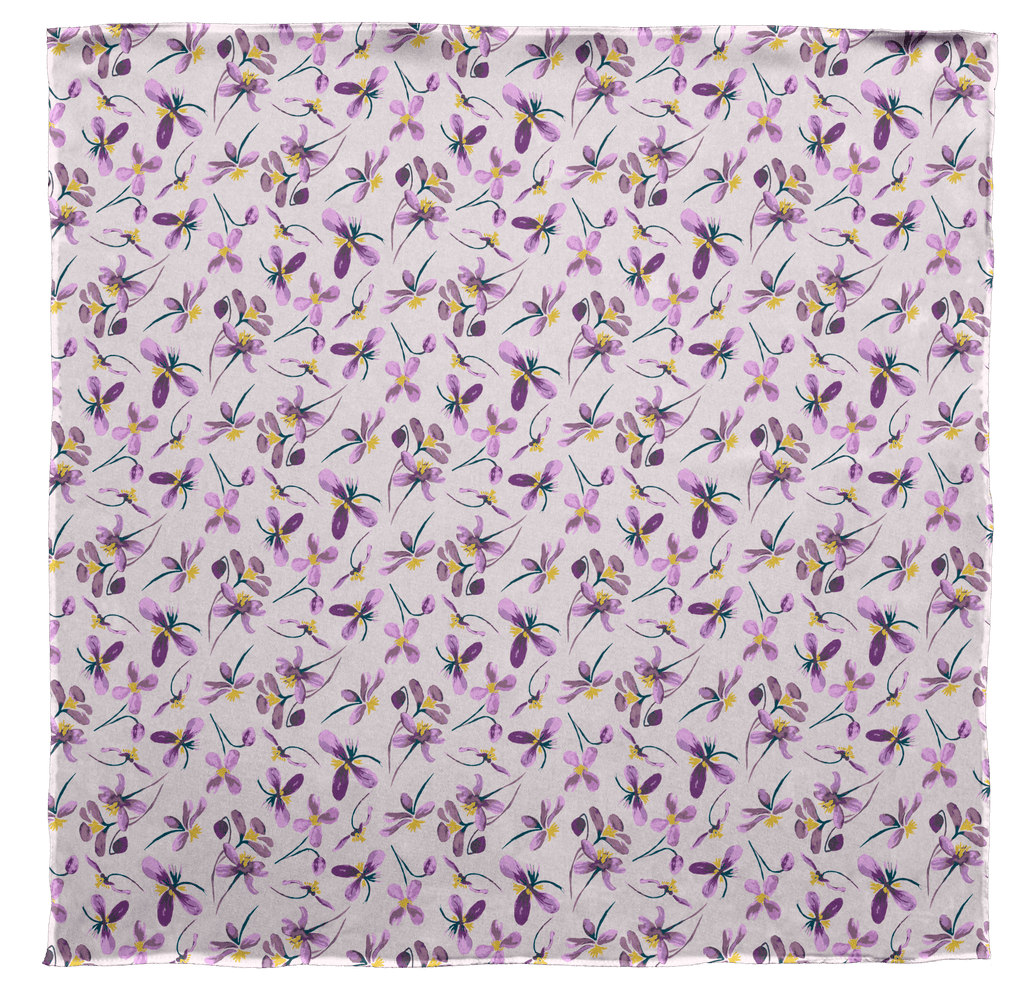 Spring Lilacs Scarf