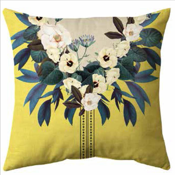 Flower Yoke Cushion