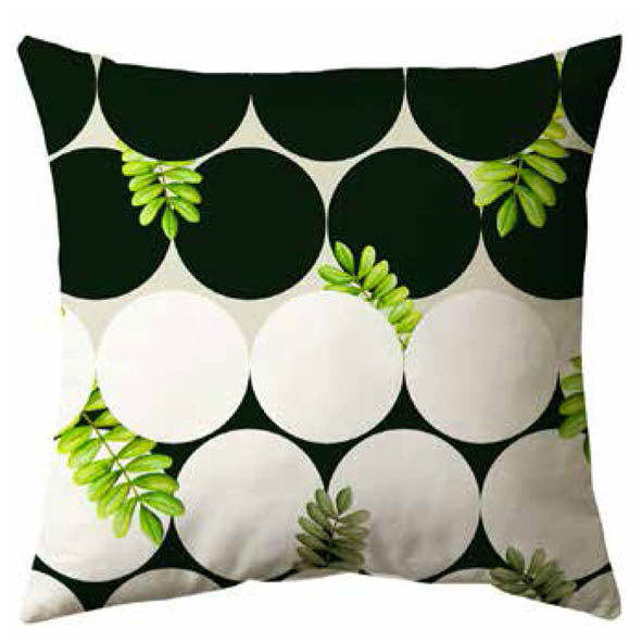 Abstract Tropical Cushion