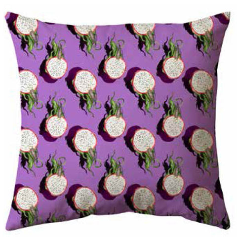 Juicy Kiwi Velvet Cushion