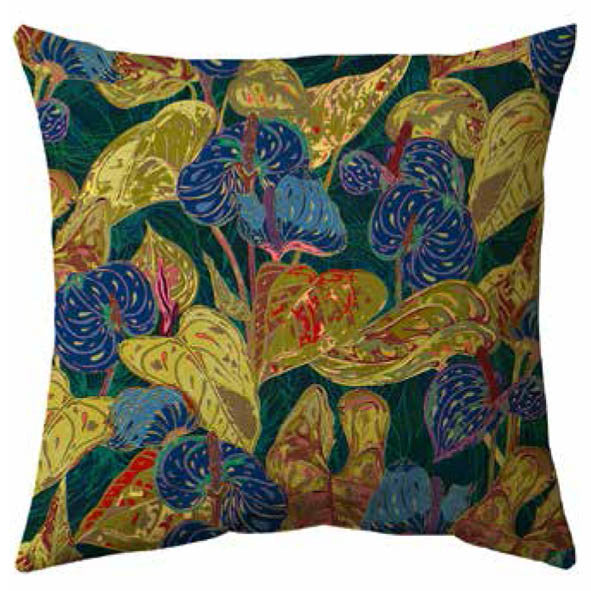 Colourful Leaves Cushion