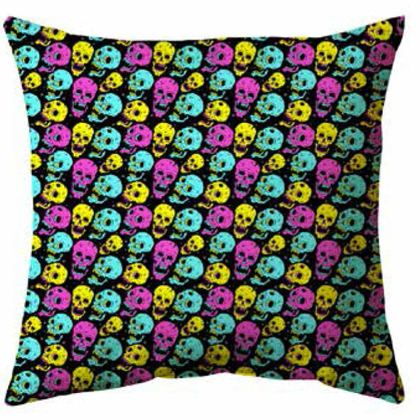 Fear In Colour Cushion