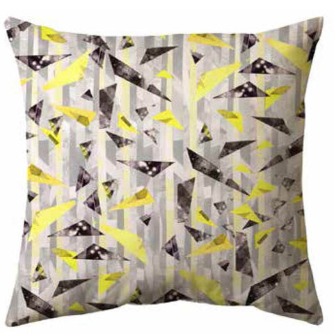 Lemon Bamboo Cushion