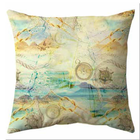 Treasure Map Cushion