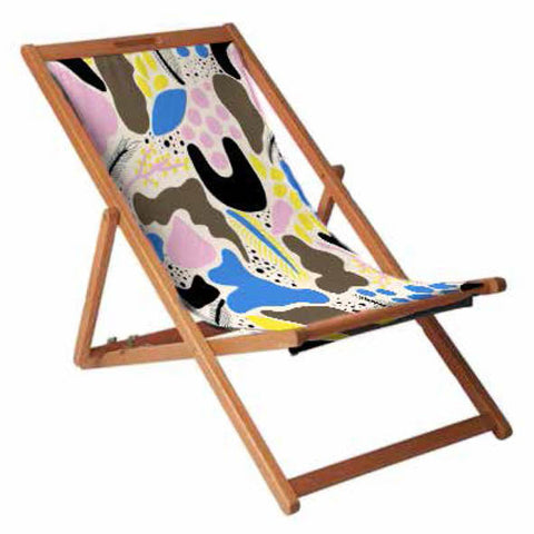Playful Print Deckchair