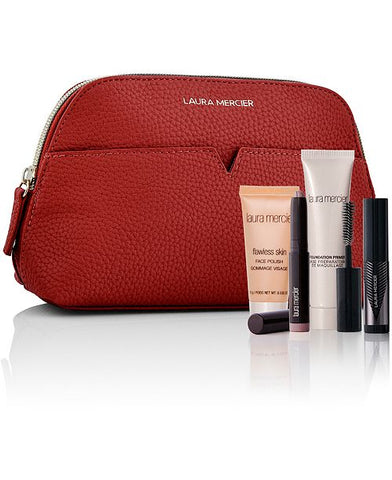 Laura Mercier Deep Rouge Makeup Bag