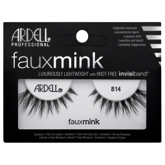 Ardell Faux Mink 814 Black False Eyelashes